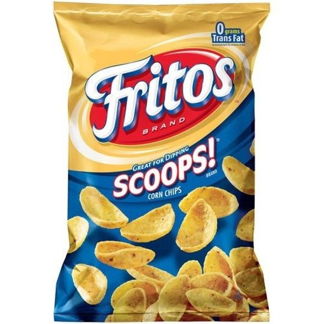 Fritos Scoops Corn Chips Frito Lay Crunchy Chips