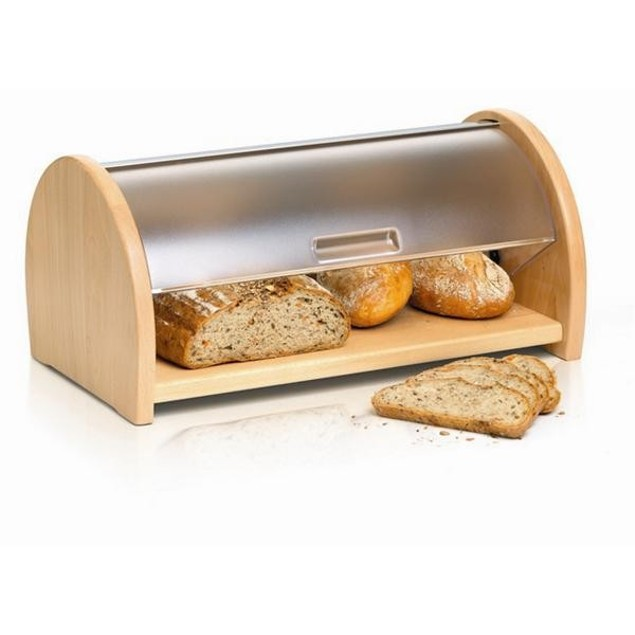 Wooden Sides Bread Box