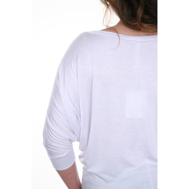 Plus Size Bat Sleeve Top