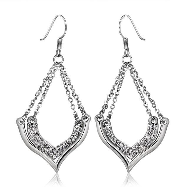 Gold Plated Chandelier Earrings