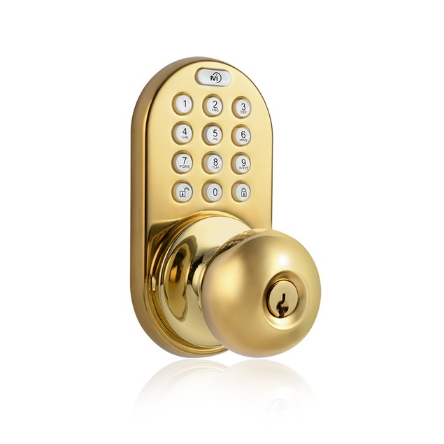 MiLocks Keyless Entry Remote Control and Keypad Knob Door Lock