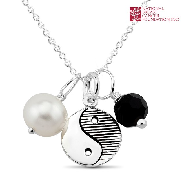 National Breast Cancer Foundation Inspirational Jewelry - Sterling Silver Inspirational Pendant