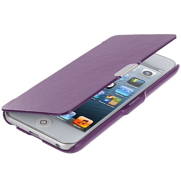Apple iPod Touch 5th Gen Slim Wallet Magnetic Flip Case Cover