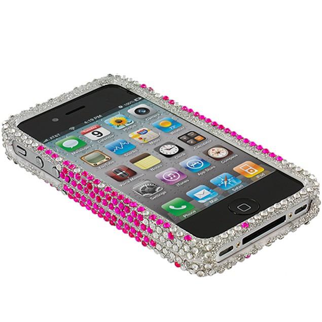 Apple iPhone 4 Diamond Rhinestone Bling Case Cover