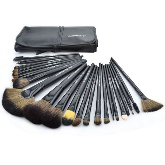 Jet Black Brush Set