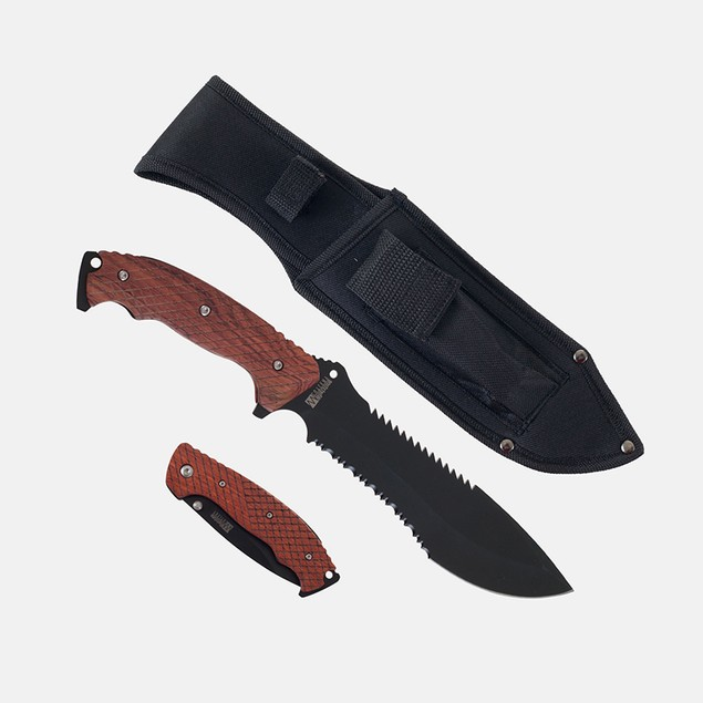 Whetstone Two Piece Hunting Knife Set