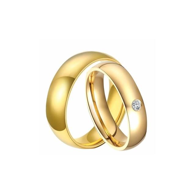 Titanium Metal Men's Ring Set (2-Piece)