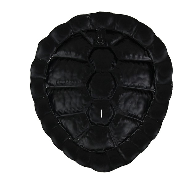 Blackened Silver Finish Metal Turtle Shell Wall Wall Sculptures