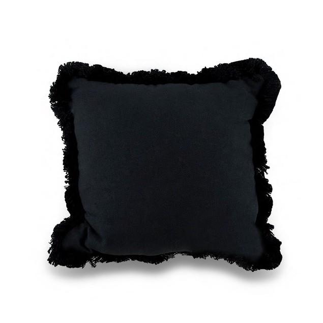 Jim Shore Midnight Bloom Decorative Black Tapestry Throw Pillows