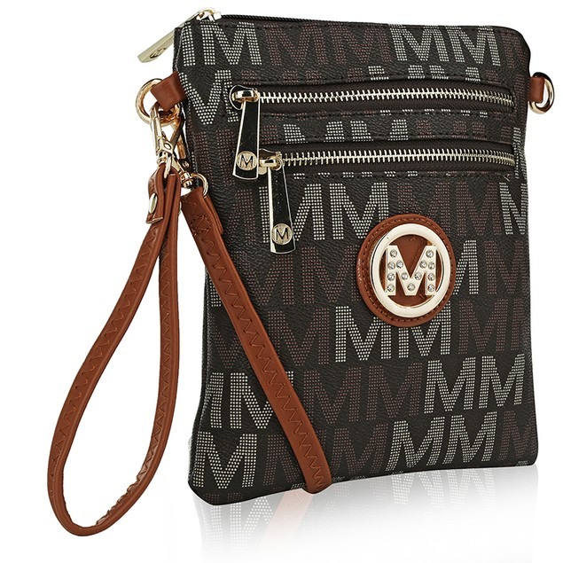MKF Collection Valerie Milan M Signature Cross-body by Mia K Farrow