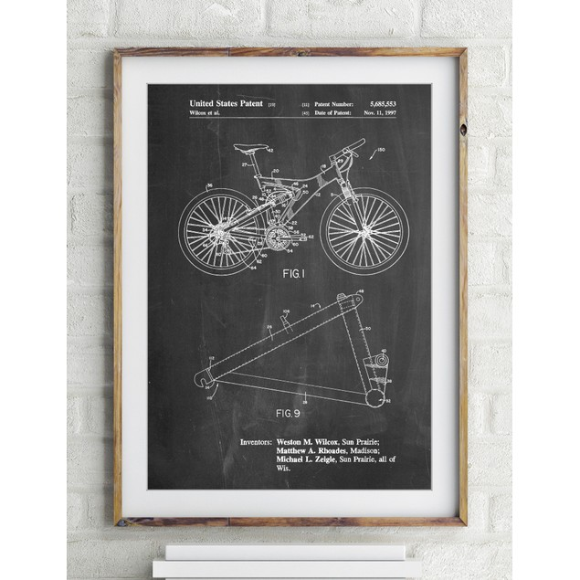 Mountain Bike Patent Art