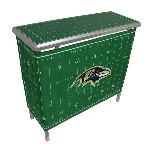 Nfl Baltimore Ravens Folding Aluminum Tailgate Fan Shop Tailgating Tables