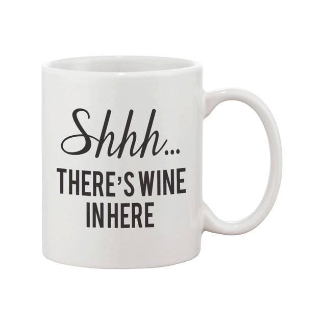 Shhh… There's Wine In Here Mug