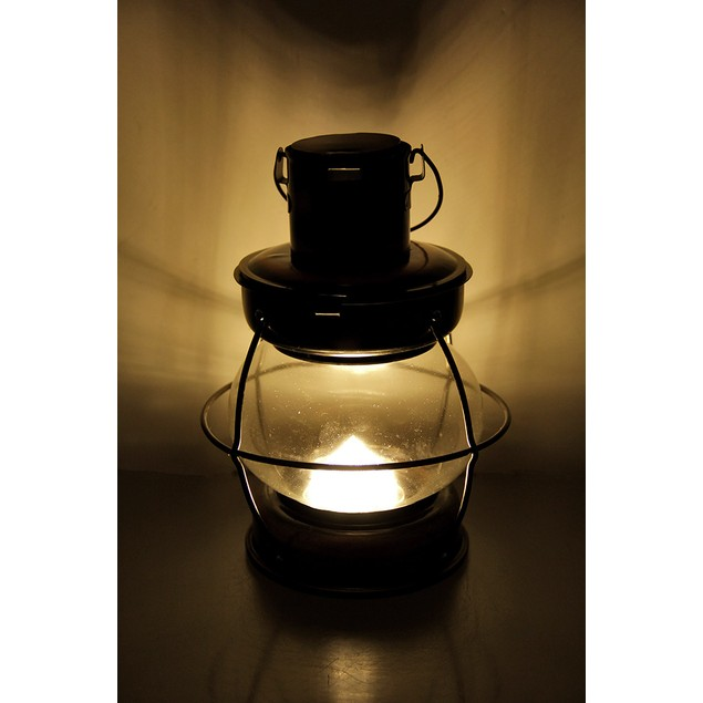 Decorative Antique Copper Finish Metal And Glass Decorative Candle Lanterns