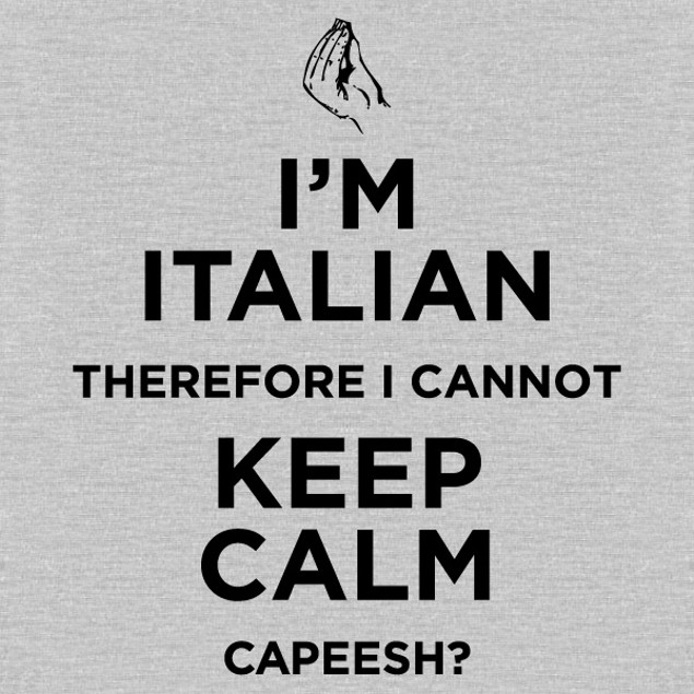 I'm Italian, Cannot Keep Calm T-Shirt