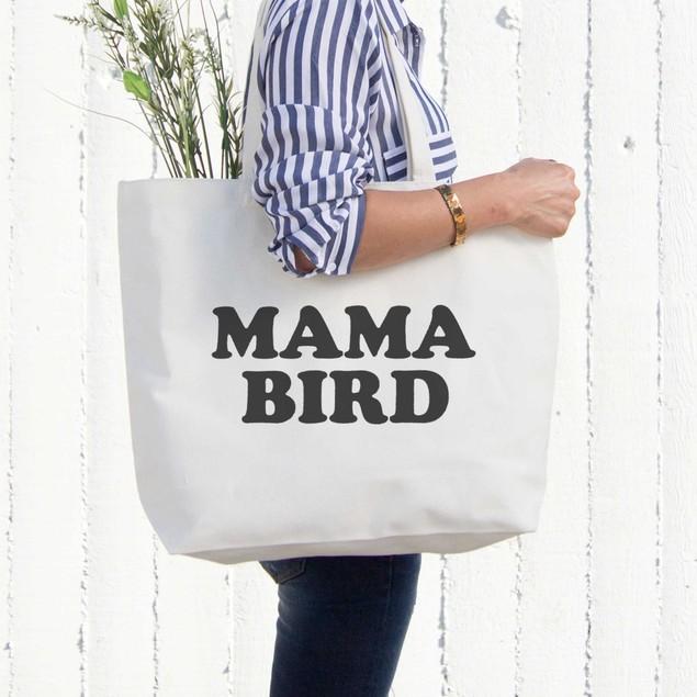 Mama Bird Canvas Bag