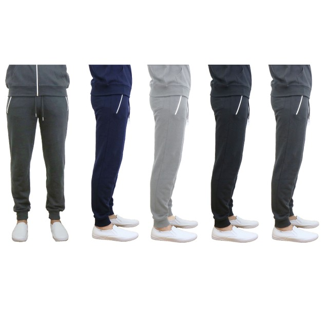 Men's Slim Fit French Terry Knit Joggers (S-2X)