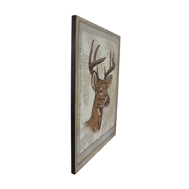 8 Point Buck Wall Hanging Plaque Decorative Plaques