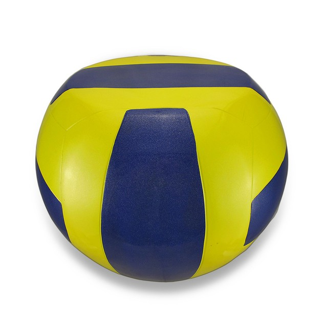 Yellow And Blue Volleyball Stool Child`S Sport Childrens Stools