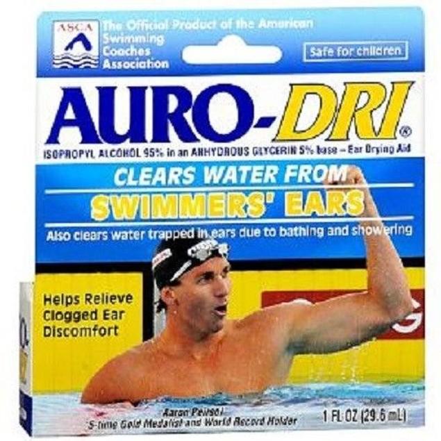 Auro-Dri Ear Water-Drying Aid Swimmers' Ears Relief 1 oz