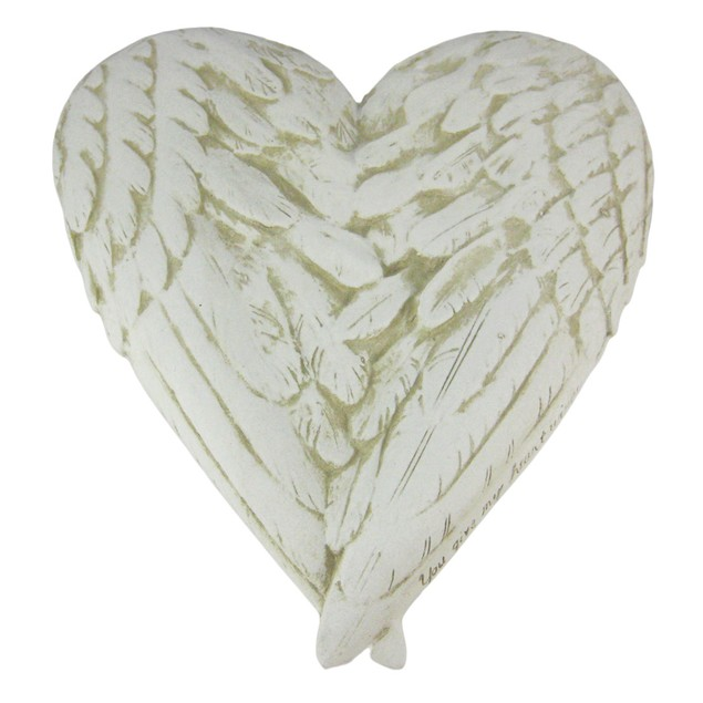 You Give My Heart Wings Marble Look Wall Plaque Decorative Plaques