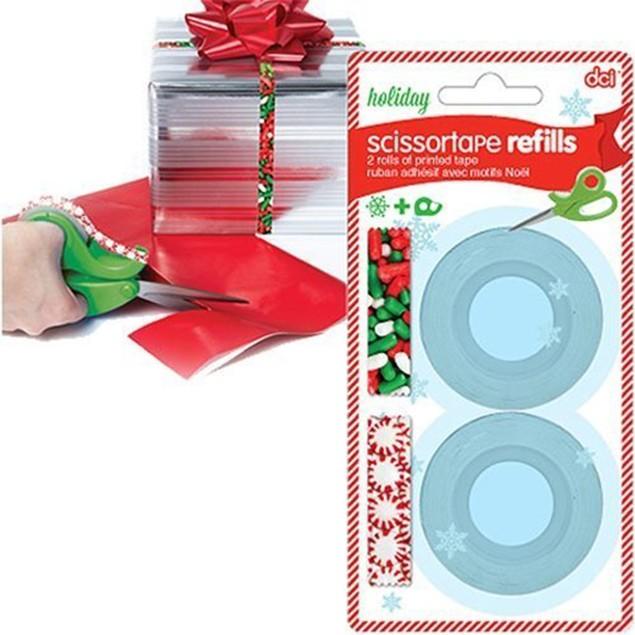 4-Pack DCI Holiday Scissor Tape Refills