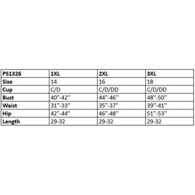 Plus Size White Mark Lucy Tunic Top (1X-3X)
