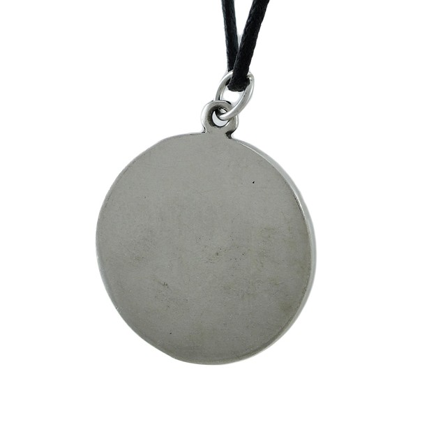 Silver Finished Protection Talisman Pendant W/ Mens Pendant Necklaces