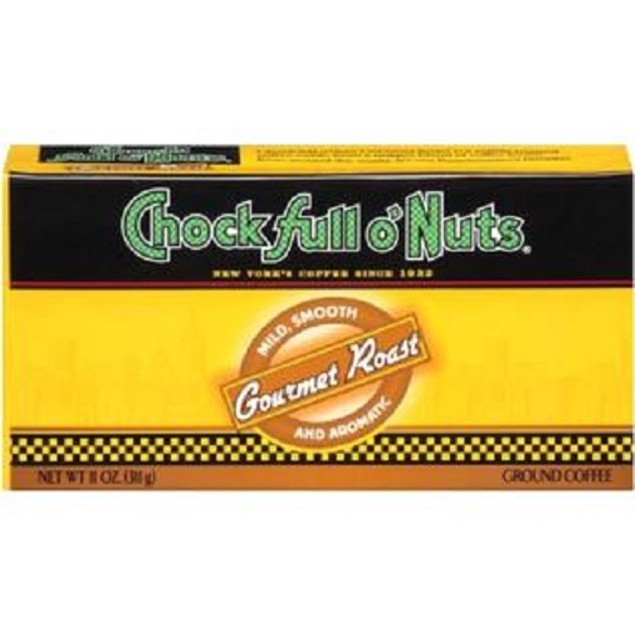 Chock Full O Nuts Gourmet Roast Ground Coffee Refill Pack