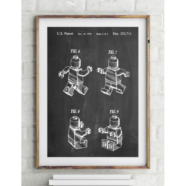 Lego Mini Figure Poster