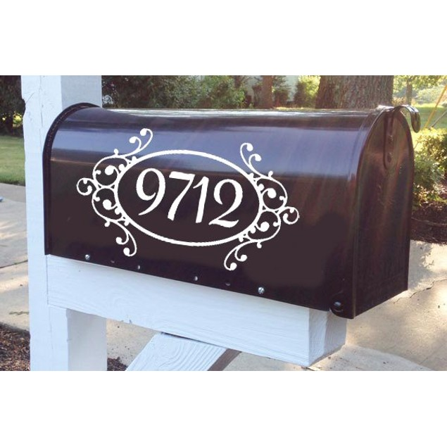 Mailbox Decal Design 69