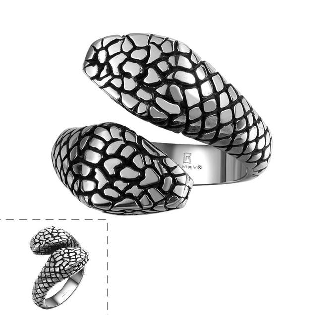 Cobra's Stainless Steel Ring