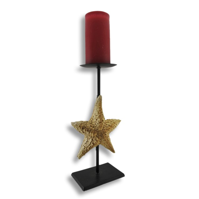 Starfish Pillar Candle Holder Stand Pillar Candle Holders