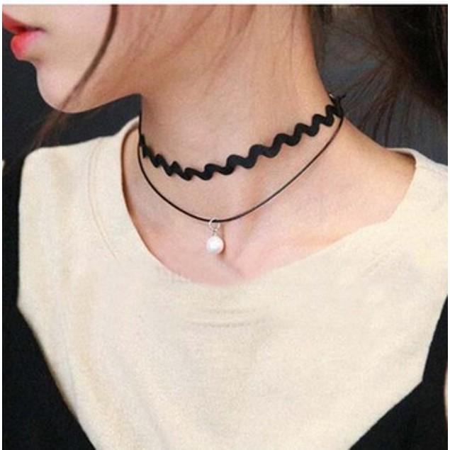4-Pack Trendy Choker Necklace Grab Bag