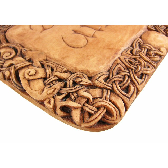 Wood Finish Harm None Wall Plaque Wiccan Rede Decorative Plaques