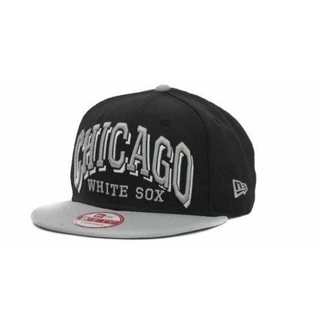 "Chicago White Sox MLB New Era 9Fifty ""Mark"" Strap Back Hat New"