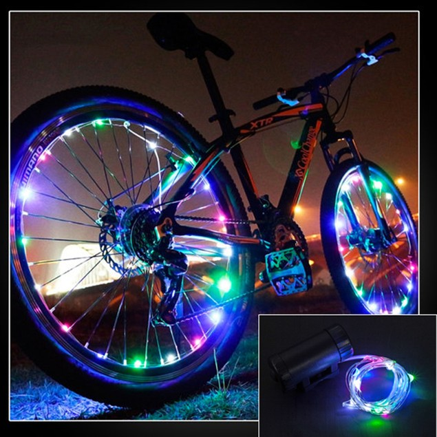 2-Pack Bicycle Wheel LED Lights