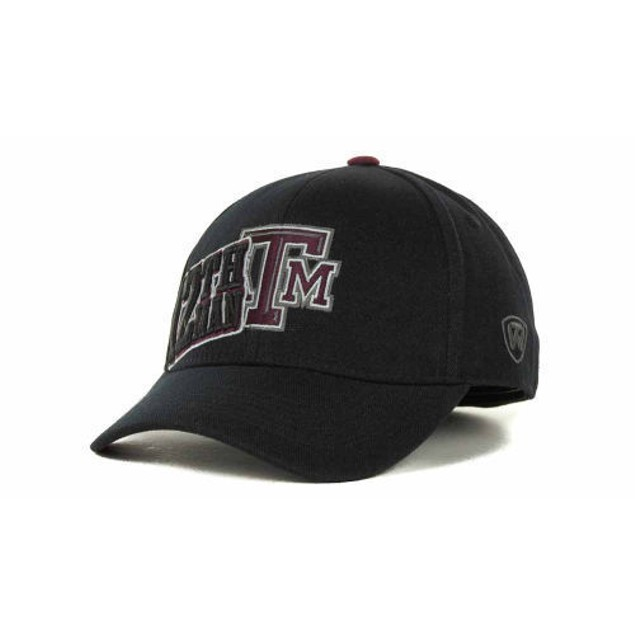 """Texas A&M Aggies NCAA TOW """"Clutch"""" Stretch Fitted Hat"""