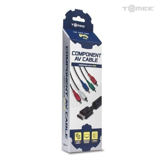 PS2 Component Video Audio Cable - Tomee