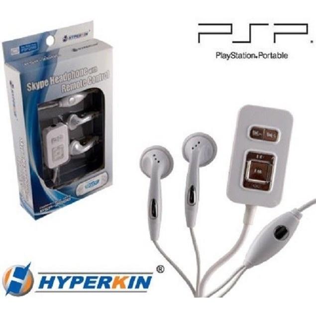 PSP Skype Headphones with Remote Control