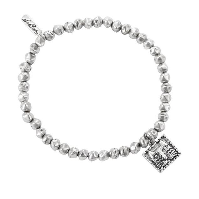 Laurel Burch Iconic Ziggy Cat Abstract Bead Womens Stretch Bracelets