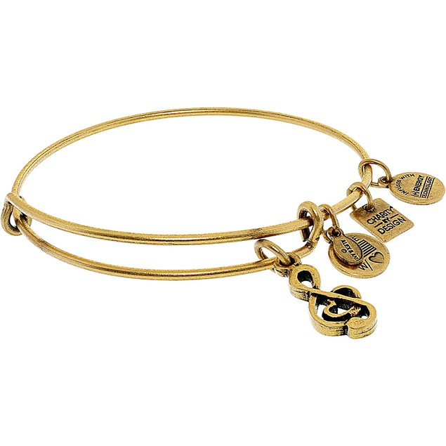 Alex And Ani Women's Sweet Melody Bangle Bracelet
