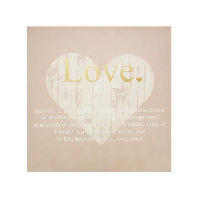 Love Defined Canvas Wall Art Print
