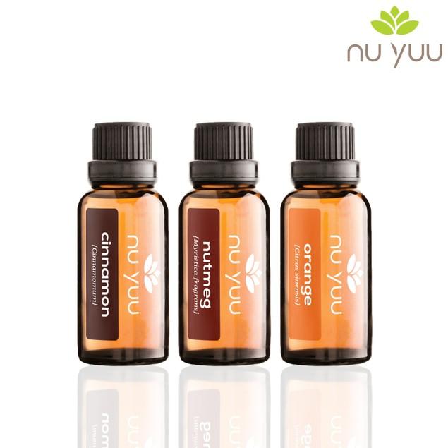 Sweet Cinnamon: Cinnamon, Nutmeg, Orange