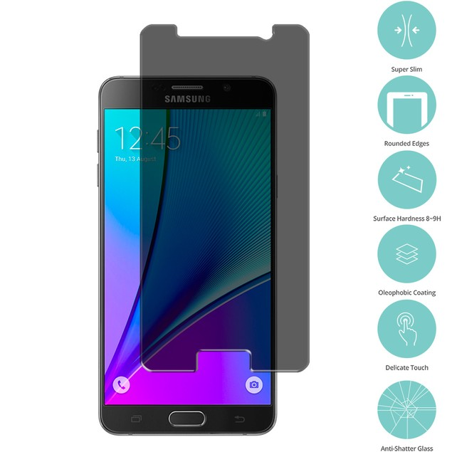 Samsung Galaxy Note 5 Privacy Tempered Glass Film Screen Protector