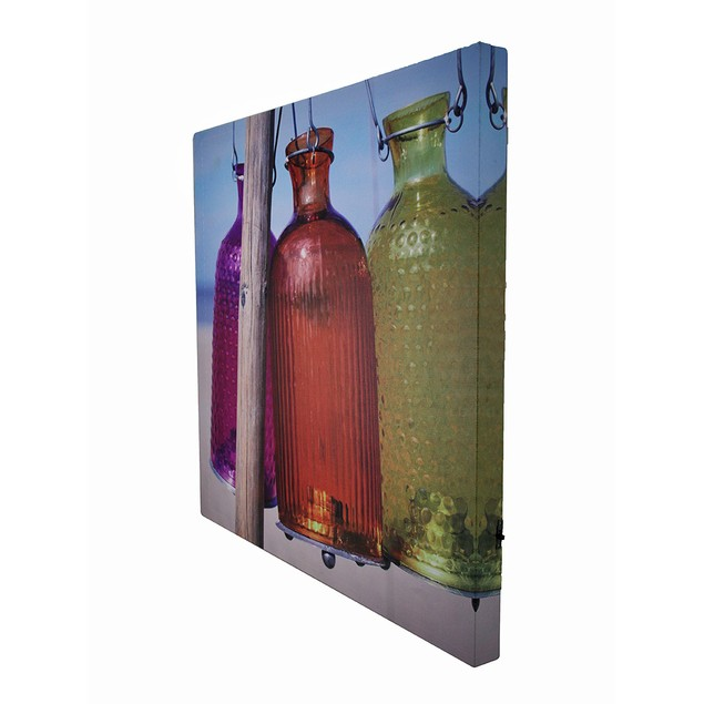 Beach Lanterns 15 X 15 Led Lighted Canvas Wall Prints