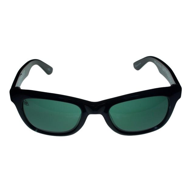 Electric Mens Wayfarer Gloss Black Plastic Polarized Lens Detroit ES082016030