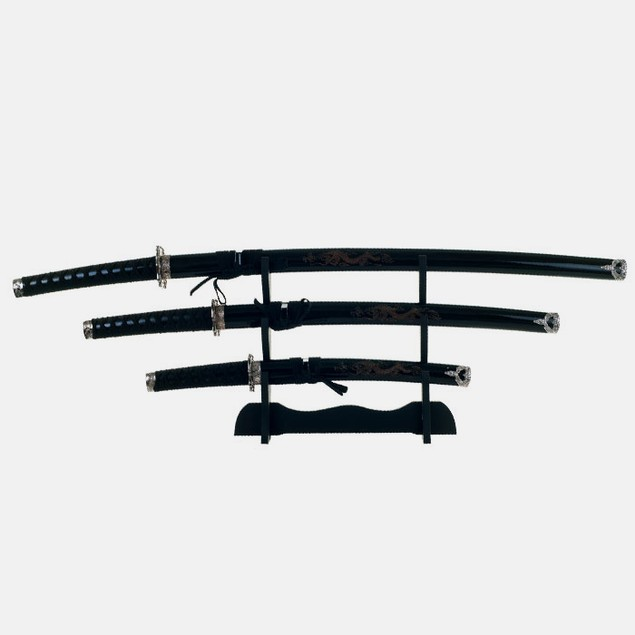 Dragon Samurai Sword Set