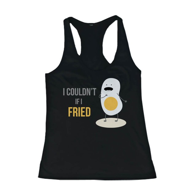 Don't Go Bacon My Heart, I Couldn't If I Fried Matching Couple Tank Tops