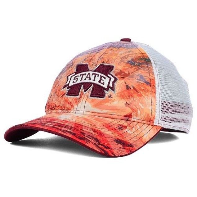 "Mississippi State Bulldogs NCAA ""Brilliant"" Mesh Snapback Hat"